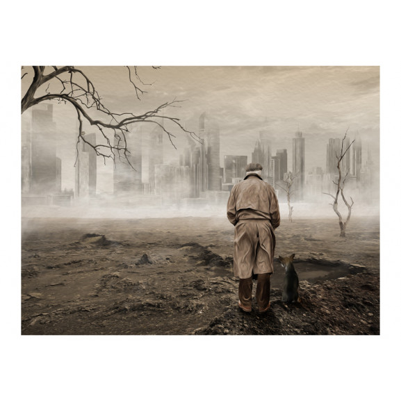 Fototapet Ghost'S City 200 cm x 154 cm naturlich.ro
