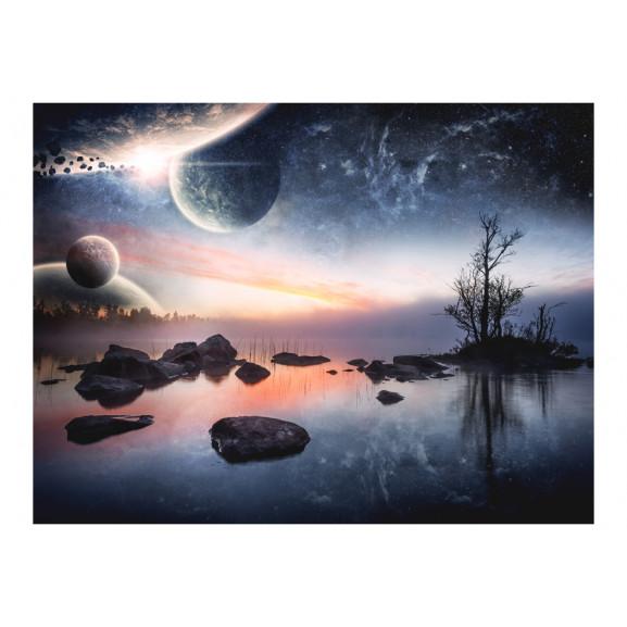 Fototapet Cosmic Landscape 200 cm x 154 cm naturlich.ro