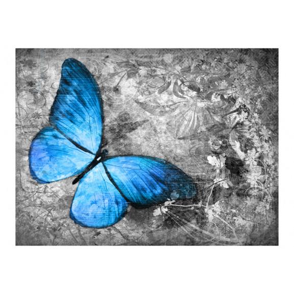 Fototapet Blue Butterfly 200 cm x 154 cm naturlich.ro