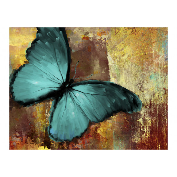Fototapet Painted Butterfly 200 cm x 154 cm naturlich.ro