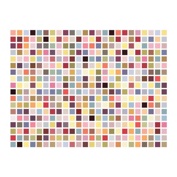 Fototapet Mosaic Of Colors 200 cm x 154 cm naturlich.ro