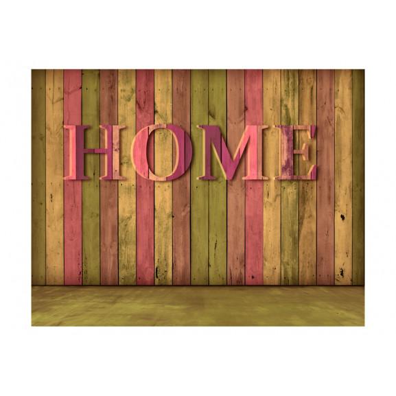 Fototapet House (Pink) 200 cm x 154 cm naturlich.ro