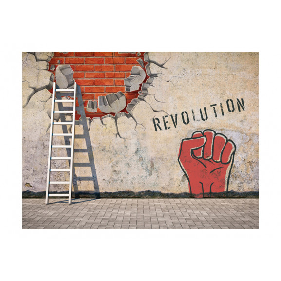 Fototapet The Invisible Hand Of The Revolution 200 cm x 154 cm naturlich.ro