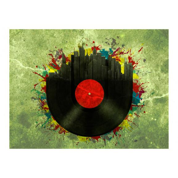 Fototapet Colorful Melodies Of The City 200 cm x 154 cm naturlich.ro