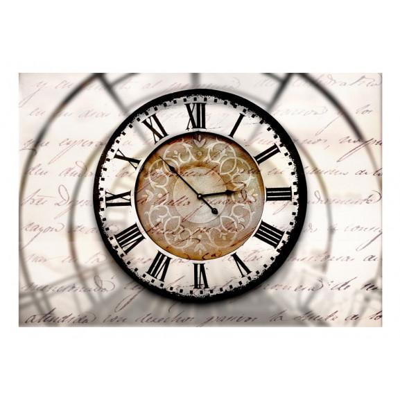 Fototapet Clock Movement 100 cm x 70 cm naturlich.ro