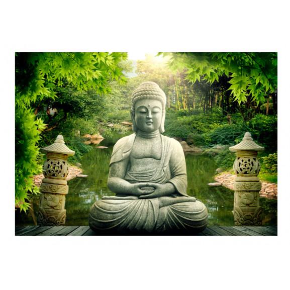 Fototapet Buddha'S Garden 100 cm x 70 cm naturlich.ro