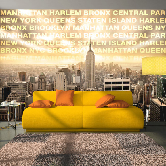 Fototapet Neighborhoods Of New York...