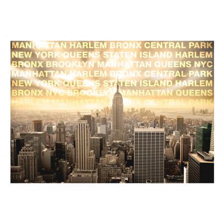 Fototapet Neighborhoods Of New York 100 cm x 70 cm-01