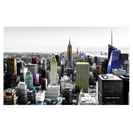 Fototapet Iridescent Skyscrapers  100 cm x 70 cm-01