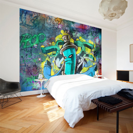 Fototapet Graffiti Maker 100 cm x 70 cm-01