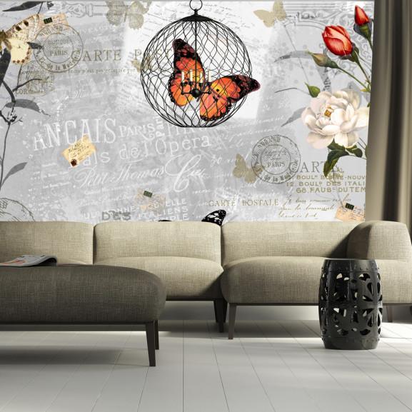 Fototapet Butterflies Song 100 cm x...