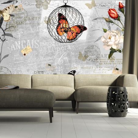 Fototapet Butterflies Song 100 cm x 70 cm-01