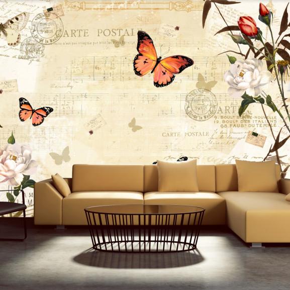 Fototapet Melodies Of Butterflies 100...