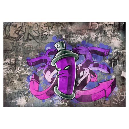Fototapet Graffiti Spray Can 100 cm x 70 cm-01