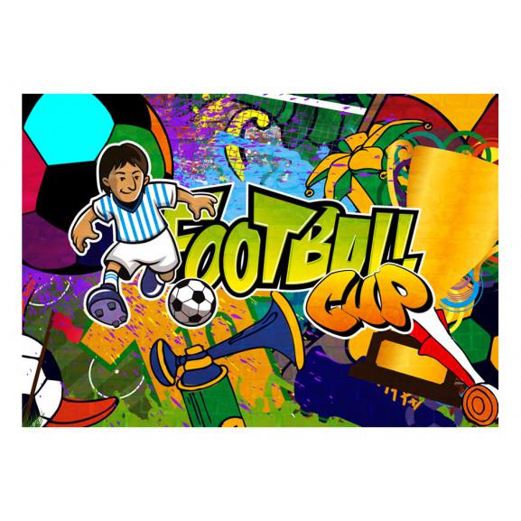 Fototapet Football Cup 100 cm x 70 cm naturlich.ro