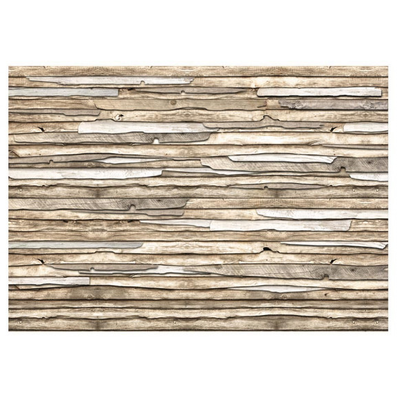 Fototapet Wooden Puzzle 100 cm x 70 cm naturlich.ro