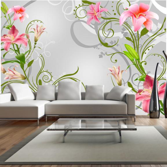 Fototapet Subtle Beauty Of The Lilies...