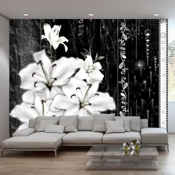 Fototapet Crying Lilies 100 cm x 70 cm