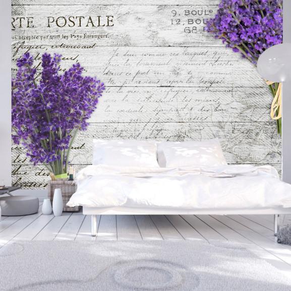 Fototapet Lavender Postcard 100 cm x...
