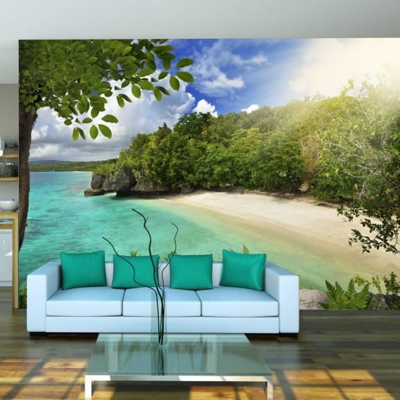Fototapet Sunny Beach 100 cm x 70 cm