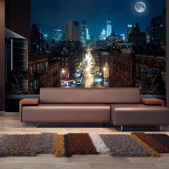 Fototapet Sleepy New York 100 cm x 70 cm
