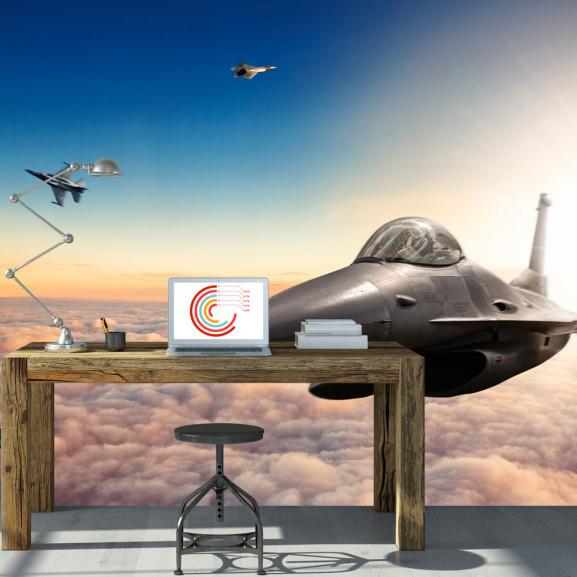 Fototapet F16 Fighter Jets 100 cm x...