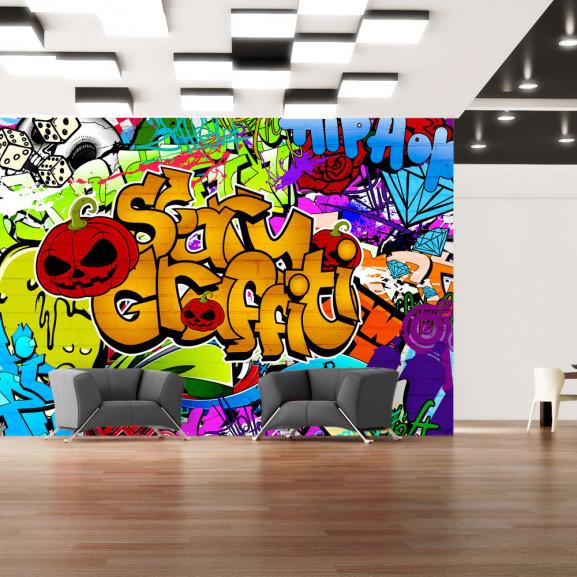 Fototapet Scary Graffiti 100 cm x 70 cm