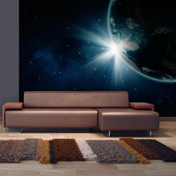 Fototapet Earth 100 cm x 70 cm