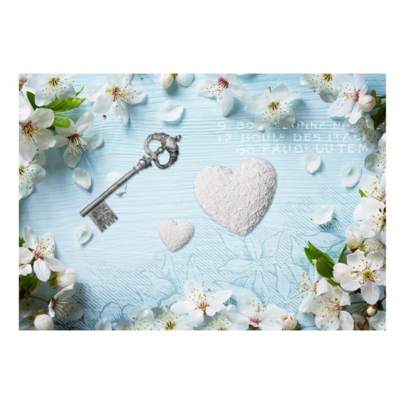 Fototapet Spring Key 100 cm x 70 cm naturlich.ro