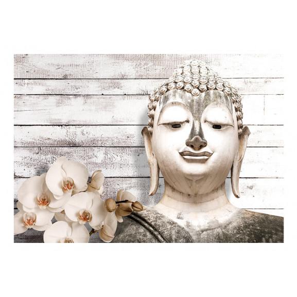 Fototapet Smiling Buddha 100 cm x 70 cm naturlich.ro