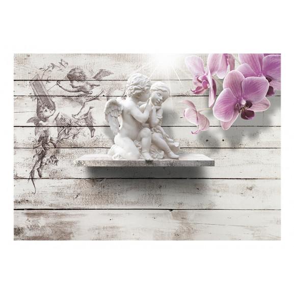 Fototapet Kiss Of An Angel 100 cm x 70 cm naturlich.ro