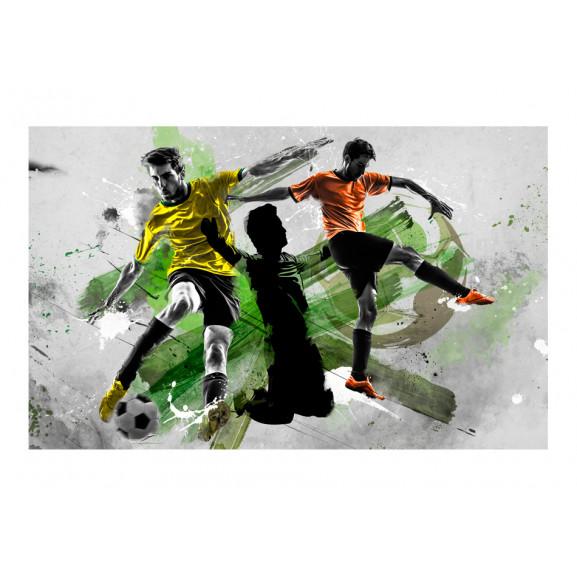 Fototapet Soccer Stars 450 cm x 280 cm naturlich.ro