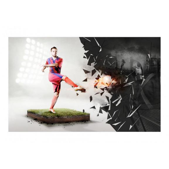 Fototapet Power Of Football 450 cm x 280 cm naturlich.ro