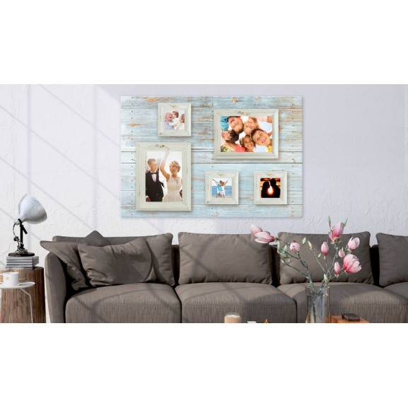 Tablou Din Plută Retro Gallery [Corkboard] 120 cm x 80 cm naturlich.ro