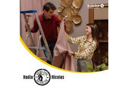 Nadia și Nicolas-Importanța combinării corecte a texturilor în amenajarea locuinței